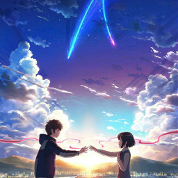 anime art love yourname kiminonawa