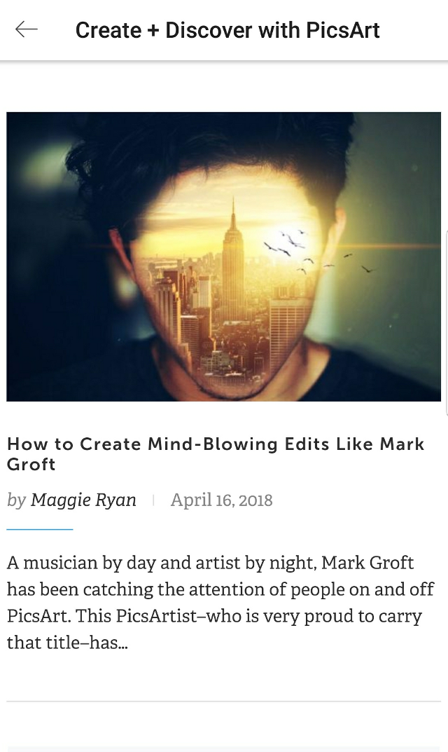 I just want to say thank you to every single one of you. There are so many talented artist on @picsart. You all Inspire me and encourage me to continue editing. Hard work does really pay off. Always remember @picsart is looking and wants to promote its artist!  Special thanks goes to @maggieryan for creating the article and everything that you do for this community. I ask anyone struggling with your edits, to keep at it because you will be recognized for your work. #thankful #picsart #editing #yay! #loveyouall #freetoedit #amazing #blog #website.