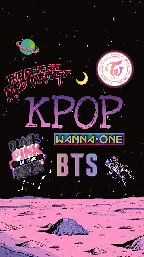 Kpop Wallpaper Twice Bts Wannaone Space Redvelvet Satur