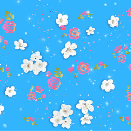 freetoedit background flowers floatingflowers