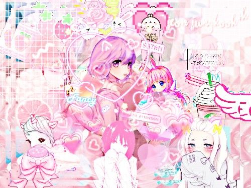 Pink Pinky Girly Kawaii Cute Supercute Aww Girls