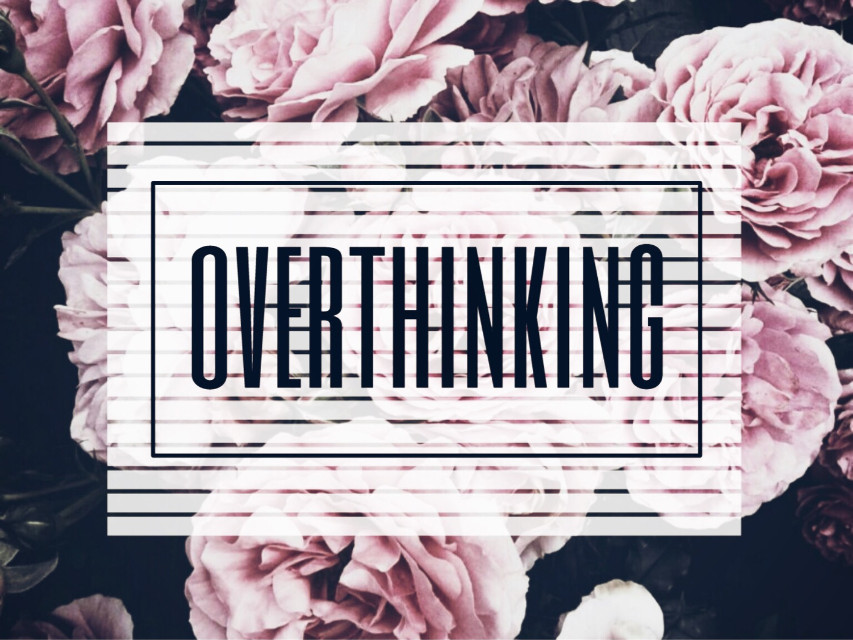 #freetoedit #tumblr #pretty #flowers #rose #quote #quotes #think #overthink