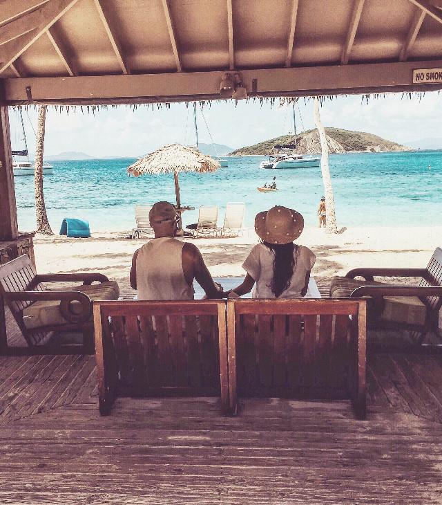 Caribbean dreamin'. ☀️ #beach #freetoedit #travel #love