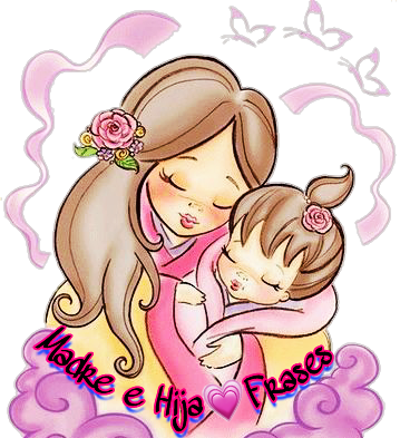 Frases Mdreehija Mamá Hija Sticker By Lucianavr96