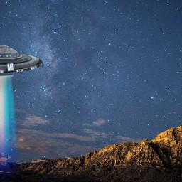 ircstarrynight starrynight freetoedit ufo alien