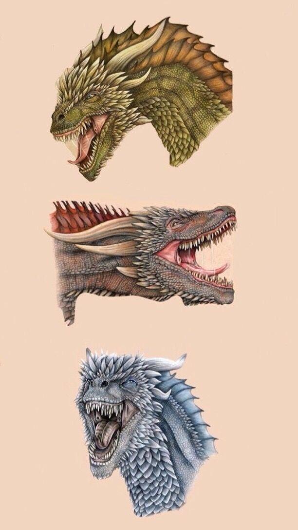Wallpaper Gameofthrones Daenerys Targaryen Drogon Rheag