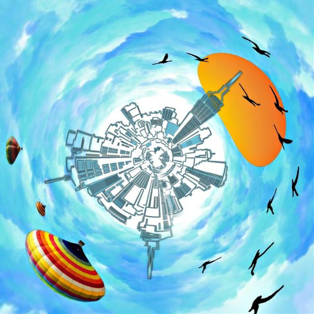 3rd #freetoedit #remixit #tinyplanet #picsart #picsartphoto #remixed