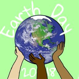 ircearthday earthday freetoedit art outline