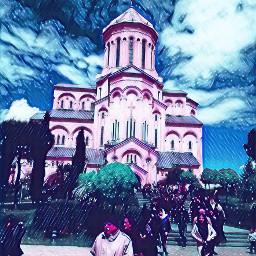 sameba church tiblisi