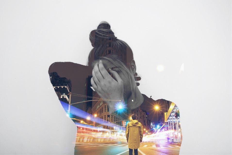 #doubleexposure #freetoeditremix #portrait #myedit