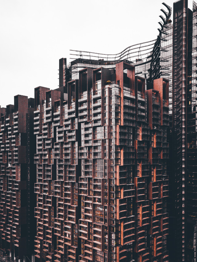 Get creative with remixing this image! Unsplash (Public Domain) #freetoedit #urban #buildings #backgrounds #colorful