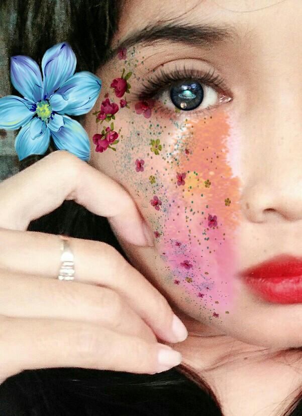 #flower #eyes #remixit #galaxy #galaxyeyes #picsart