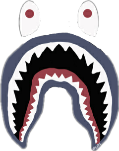 Popular And Trending Bapeshark Stickers On Picsart