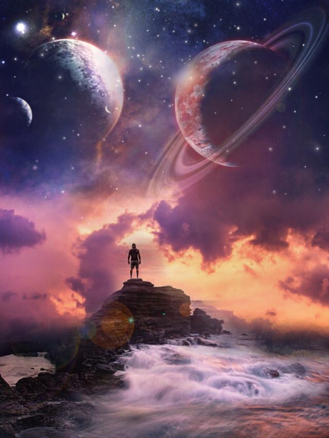 #freetoedit #myedit #edit #surreal #landscape #edited #galaxy