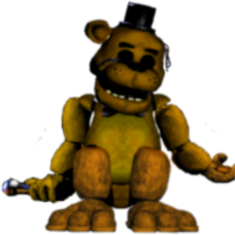 Ammco bus : Withered golden freddy fnaf 1