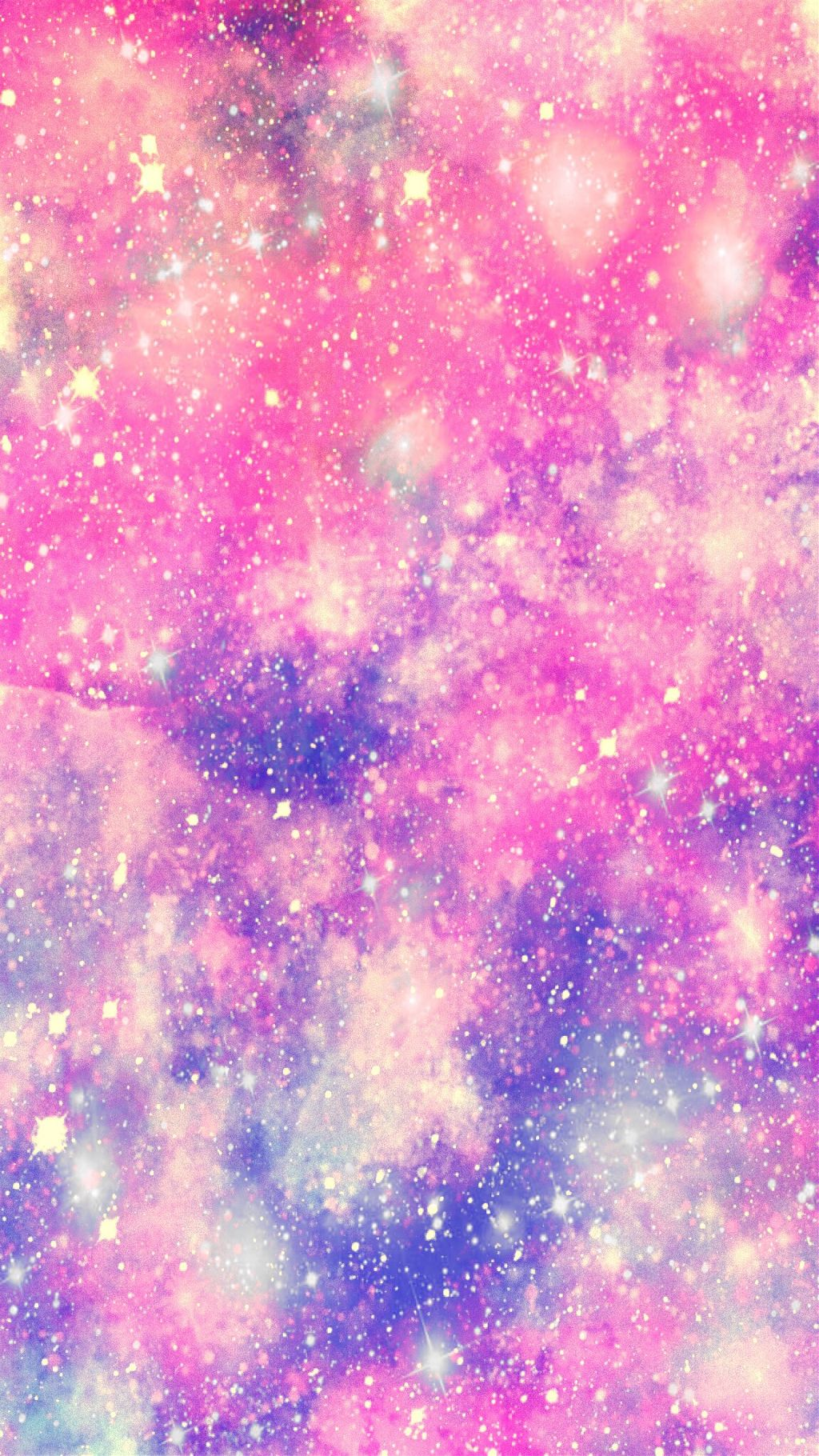Freetoedit Pink Pastel Galaxy Glitter Sparkle Stars Fte