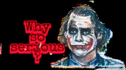 serious wason joker smile freetoedit