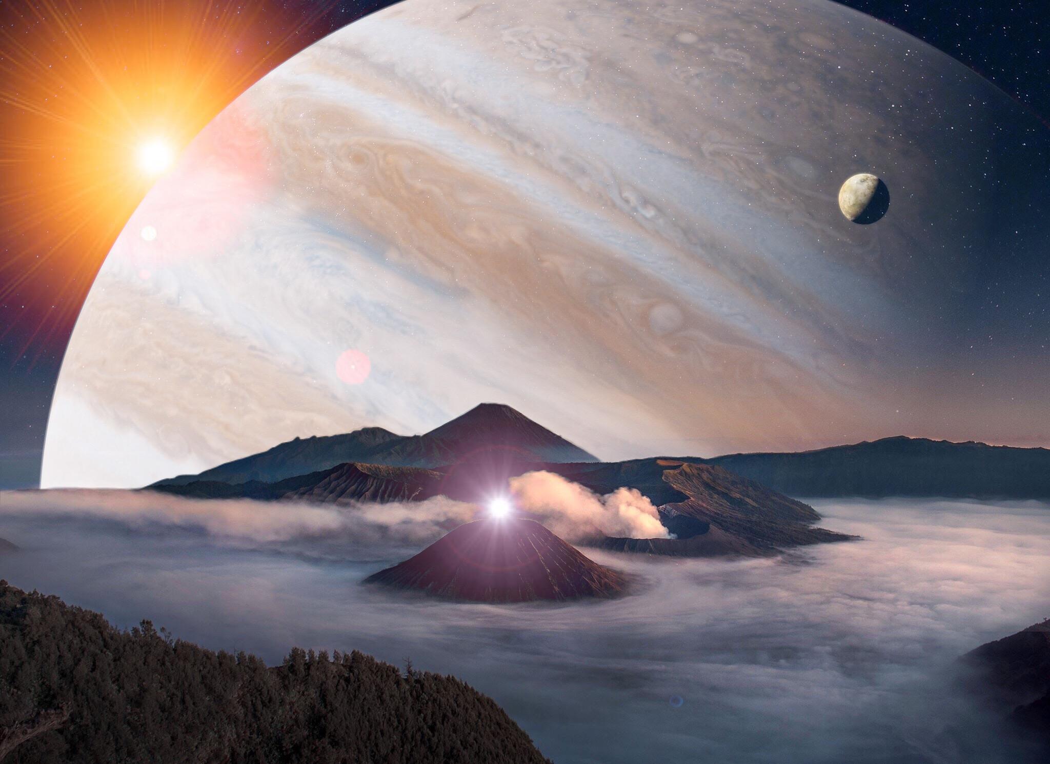Картинки про космос и луну