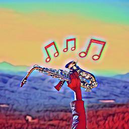 ircsaxophone saxophone freetoedit musicalnote stickers