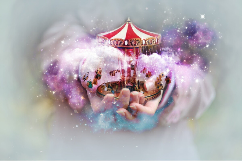 #freetoedit  #ecsurreal #doubleexposure #galaxybrush #hands #carousell  Op @efeefmi