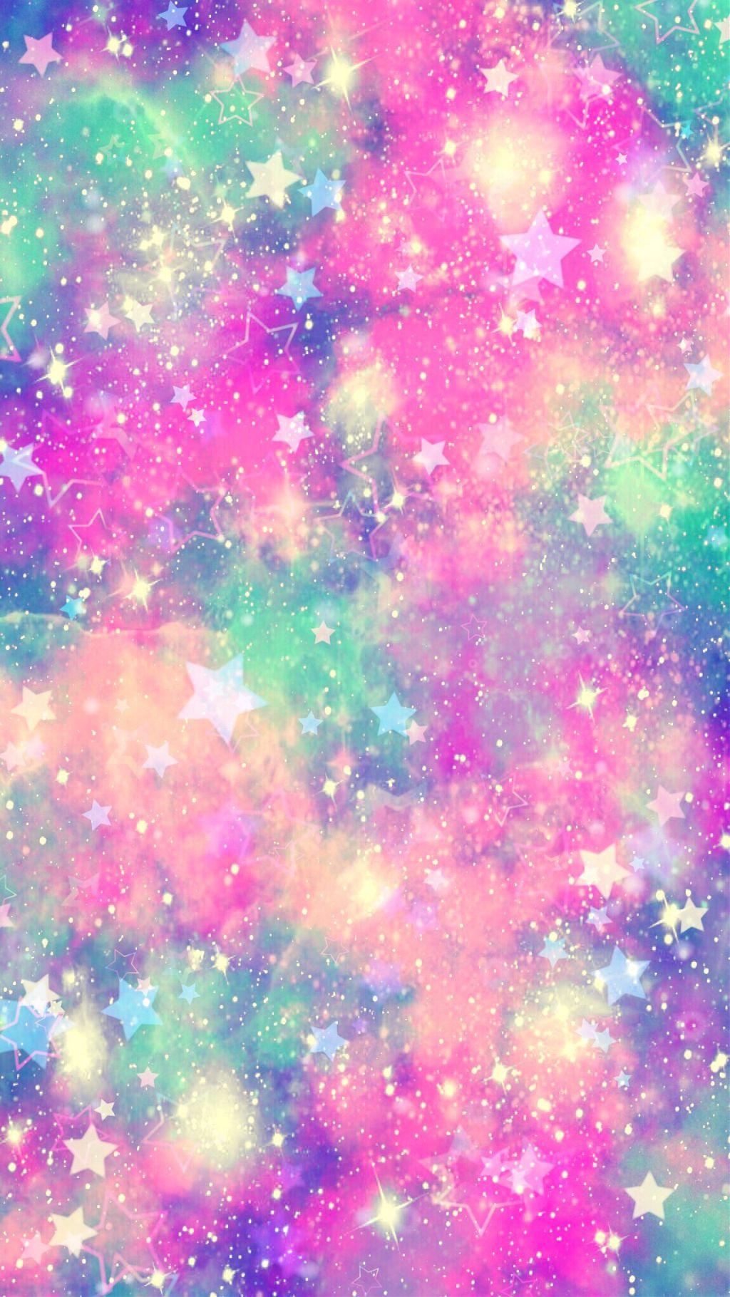 freetoedit glitter galaxy sparkle pastel rainbow stars...