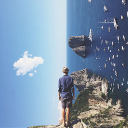 ecsurreal surreal interesting walk cliffwalk