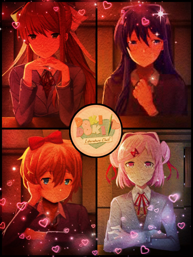 #freetoedit  just monika,just yuri,just sayroi or just natsuki?!!what do you like the most#DDLC#dokidokilitetureclub#justmonika#justyuri#justnatsuki#justsayroi#pretty#love