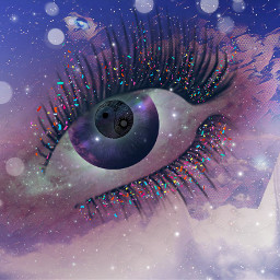 freetoedit eye confettibrush galaxy ircgalaxy