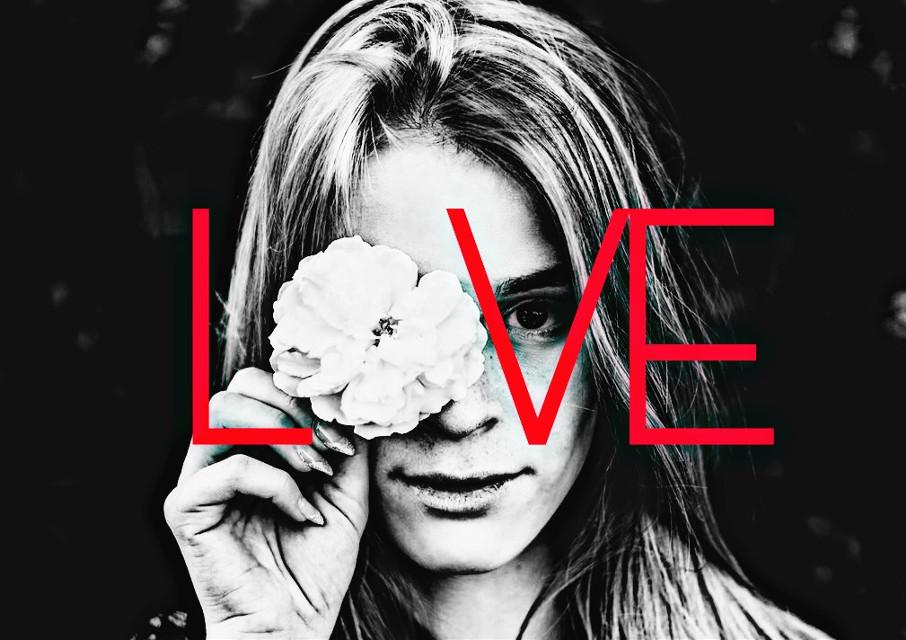 L🌼VE #remixit #flower #girl #nature @freetoedit