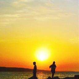 sun sunset sunsetsilhouette sunlight sunsetlover