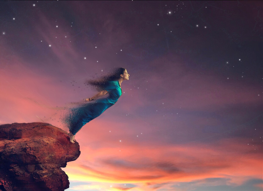 #freetoedit I took the photo of the beautiful sky and put this piece together #creative #myedit #beautifulscenery #wish #creativity #createdbyme #soar #life #lift #dive #opportunities #reach #feel #breeze #hiddenmessage #signedbyme