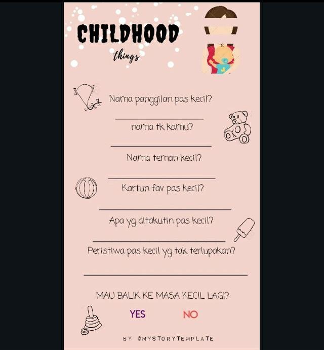 Childhood moments #childhood #templates #storytemplate #picsart #black