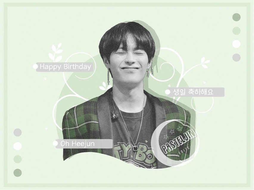 ─🌱🐢 Happy Birthday do KNK's little (ok not so little anymore) boy Oh Heejun! Sorry that I'm a little late but it's still your birthday even KST🎉                         ─━━━━━━⊱✿⊰━━━━━━─       Guys what the actual frick frack is sinusitus      frontitis? Well whatever it is.. I'm not allowed      to go to school 'til friday yay (i guess)        STAY IN SCHOOL KIDS! EDUCATION GOES FIRST       Yea. I hope I'll get the time to finally finish all      those edits for several contests. Comment      down below if you want me to check out some      specific contests! FEEL FREE FOR SELF PROMO~       ☾DON'T FORGET TO JOIN MY CONTEST!!☾                         ─━━━━━━⊱✿⊰━━━━━━─  I have a pretty cool idea for stuff to write into the descriptions but I'm not really sure about it yet since it'd be something veeery time consuming:')  •sticker credits• ➡Heejun Sticker - myself ➡Photo credits - twt@/beautifulones58   #ohheejun #happyheejunday #heejun #knkheejun #heejunknk #knk #크나큰 #오희준 #knkedit #kpop #kpopedit #kpopknk #happybirthday #pasteljinbdaycollection #pastel #pastelgreen #aesthetic #pasteledit #grey #green #interesting