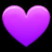 lila purple emoji heart samsung freetoedit