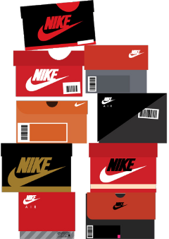 nike sneakers boxes shoes sneakerheads freetoedit