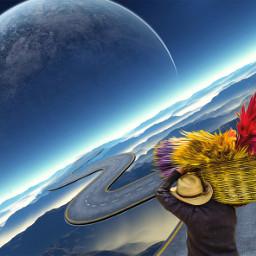 irccolorfulbasket colorfulbasket freetoedit space wander