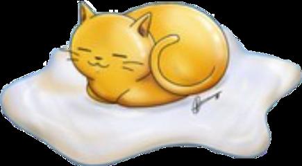 scsunnysideup sunnysideup cat egg freetoedit