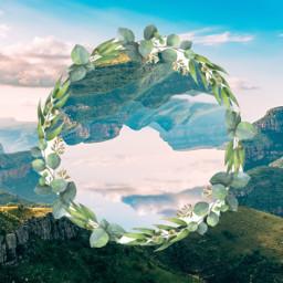 freetoedit mountains flowers