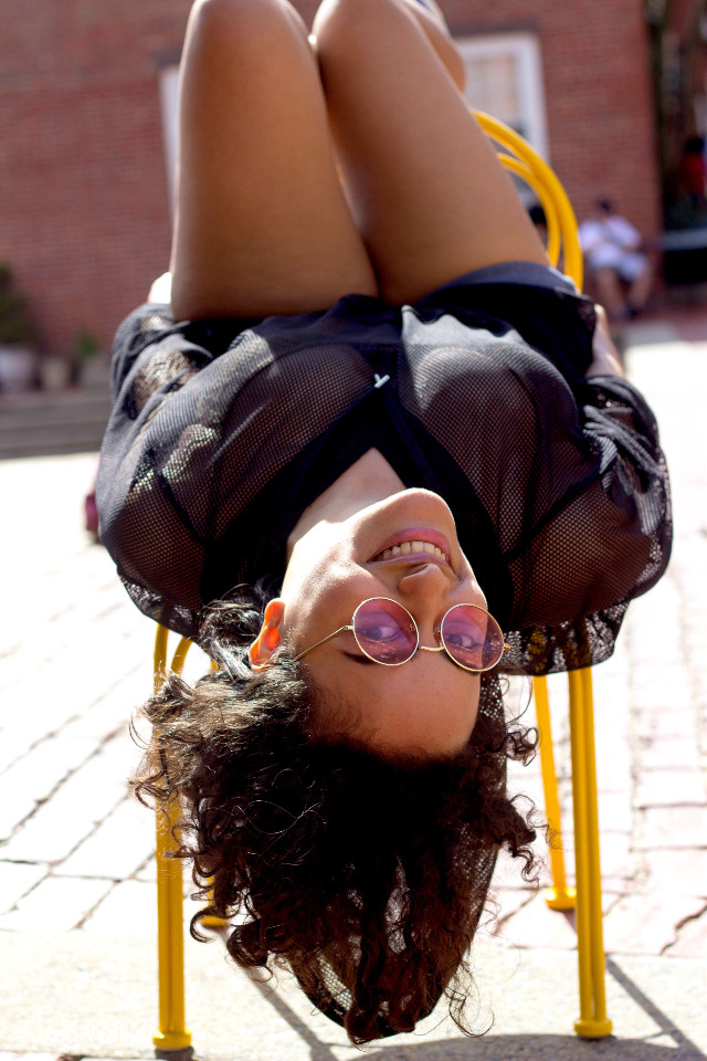 #freetoedit #loungin #loungingaround #spring #outside #upsidedown #style #smile #chair #hello #pcportrait #portrait #pcportraits #portraits