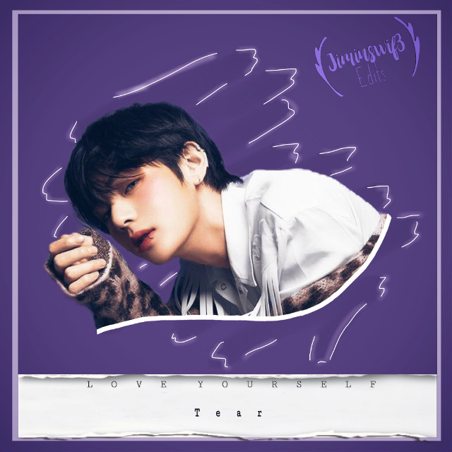 Taehuyng edit~         Lover yourself: tear  Hope you like it! 💕 Btw, taehyung looks hottie with his lipring (even if it's fake, he looks so good with it)           #kimyaehyung #btstaehyung #btsv #V #teahyungkim #loveyourself #dark #purple #aesthetic #handsomeboy