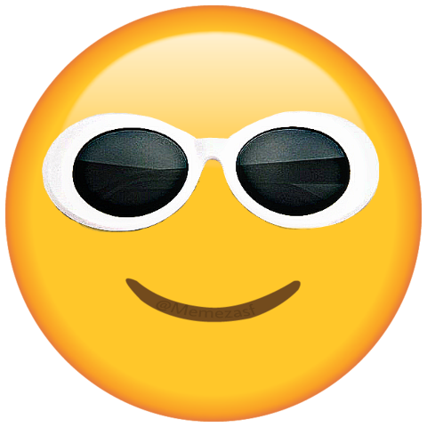 sunglasses glasses emoji ftestickers clout cloutgoggles