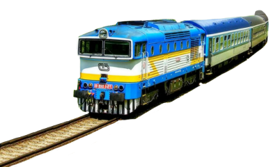 travel train blue bluetrain travelling