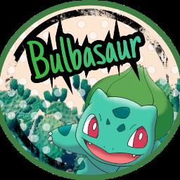 bulbasaur icon pokemon freetoedit grassstarter