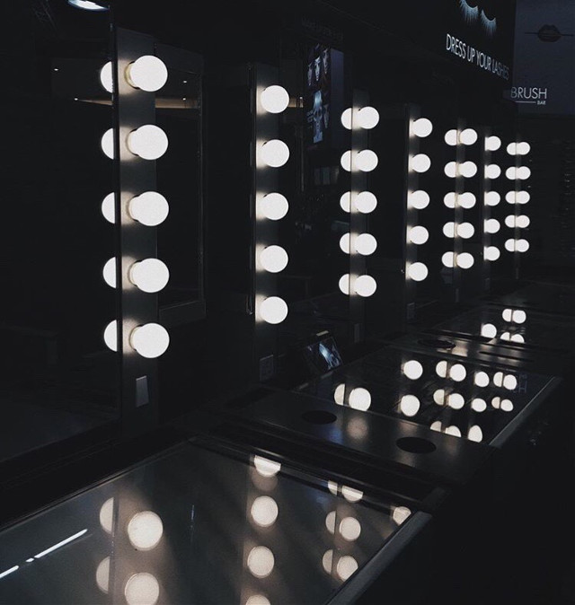 I'm posting this early cause I have 2 finals today and I'll finish at 4 pm yikes  📱Instagram username: salmaadelxx📱  #aesthetics #tumblr #phonephotography #cleanaesthetics #simpleaesthetics #themes #feed #tumblraesthetics #theme #remixit #halloween #halloweenvibes #blacktheme #lights #makeupforever #vanity #mirror #freetoedit