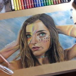art drawing portrait brooklynandbailey