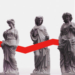 freetoedit lines art sculpture red