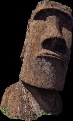 easterisland moai landmark freetoedit