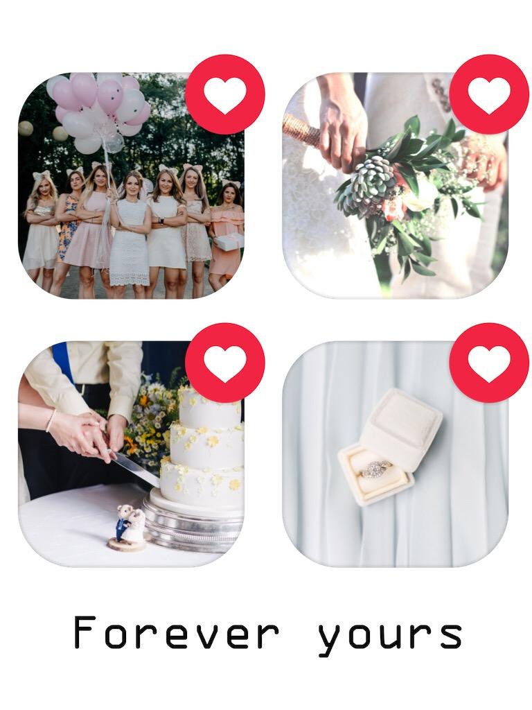 #wedding #collage #freetoedit