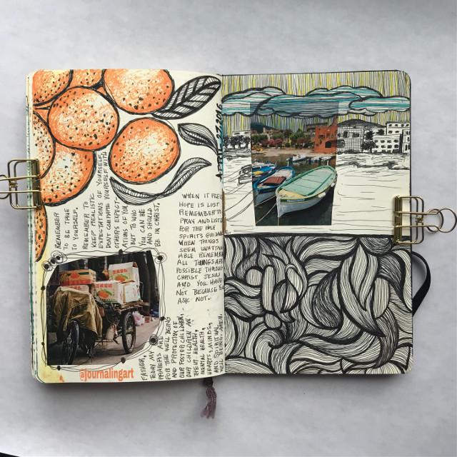 #moleskine #artjournal #sketchbook