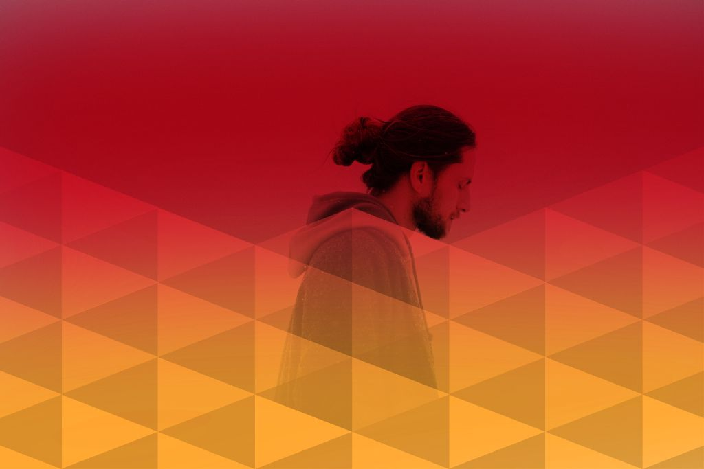 #freetoedit #geometric #heatmask #colorful #man #editedbypicsart #ecmybestedit